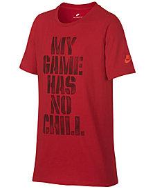 Nike Chill-Print Cotton T-Shirt, Big Boys