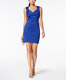 Jessica Howard Petite Cutout Sweetheart Dress