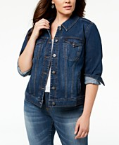 140d27c92b4c Women s Plus Size Jackets - Macy s