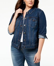 cd79552dba9 Women s Plus Size Jackets - Macy s