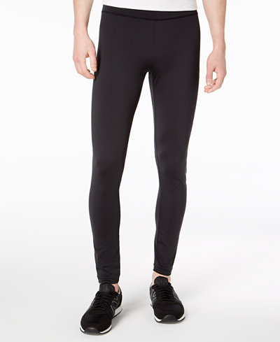 Armani Exchange Men's Slim-Fit Leggings with Tonal Logo