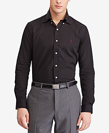 Polo Ralph Lauren Men's Slim Fit  Stretch Poplin Shirt