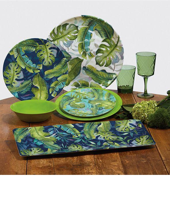 Certified International Tropicana Melamine Dinnerware Collection