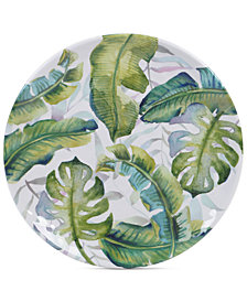 Certified International Tropicana Melamine Round Platter