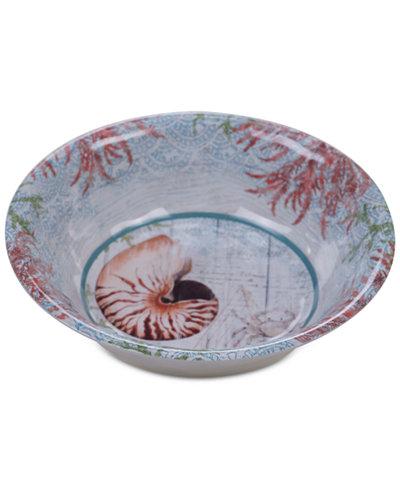 Certified International Sanibel Melamine All-Purpose Bowl