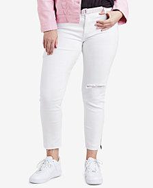 Levi's® Plus Size 711 Cotton Skinny Ankle Jeans
