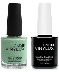 Creative Nail Design Vinylux Mint Convertible Nail Polish & Top Coat (Two Items), 0.5-oz., from PUREBEAUTY Salon & Spa
