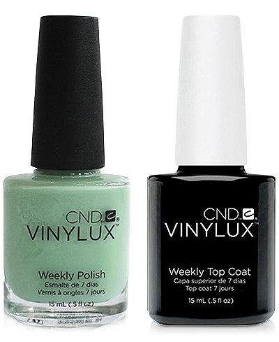 Creative Nail Design Vinylux Mint Convertible Nail Polish & Top Coat (Two Items), 0.5-oz., from PUREBEAUTY Salon & Spa