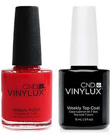 Creative Nail Design Vinylux Mambo Beat Nail Polish & Top Coat (Two Items), 0.5-oz., from PUREBEAUTY Salon & Spa