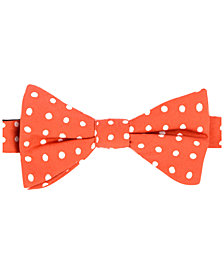 Tommy Hilfiger Men's Printed Dot Pre-Tied Silk Bow Tie