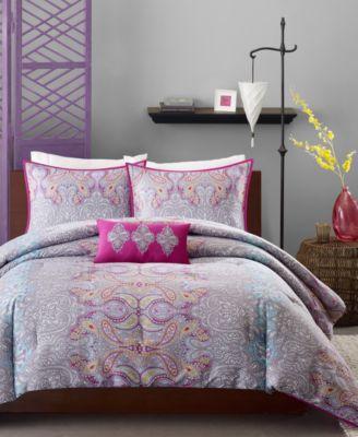 Keisha 4-Pc. Full/Queen Comforter Set