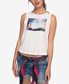 Roxy Juniors' Cotton Graphic Tank Top