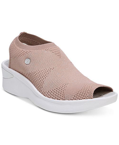 0f161eac0200 Bzees Secret Wedge Sandals   Reviews - Sandals   Flip Flops - Shoes ...