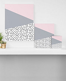 Deny Designs Viviana Gonzalez Scandinavian Style Gray Canvas Collection