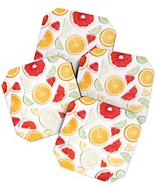 Ingrid Beddoes Citrus Fresh Coaster Set