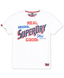 Superdry Men's 34 Street Goods Logo-Print T-Shirt