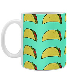 Deny Designs Leah Flores Taco Party Coffee Mug