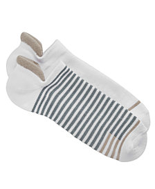 Lemon Women's 2-Pk. Striped Power No-Show Socks
