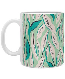 Deny Designs Holli Zollinger Ungle Palm Troopica Coffee Mug