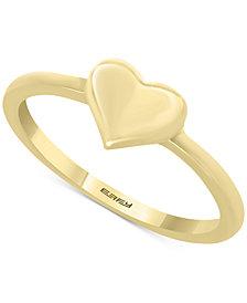 EFFY Kidz® Children's Polished Heart Ring in 14k Gold