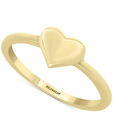 EFFY Kidz® Children's Polished Heart Ring in 14k Gold