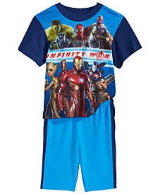 Marvel's® 2-Pc. Infinity War Pajama Set, Little Boys & Big Boys