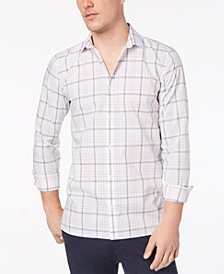 Calvin Klein Men's Infinite Cool Plaid Shirt