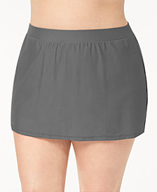 GO by Gossip Plus Size Swim Skirt, Created for Macy's