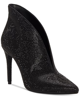 LASNIA - High heeled ankle boots - black