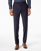 356d14f71e Calvin Klein Men s Skinny-Fit Infinite Stretch Navy Suit Pants