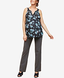 The Zelie Tall Secret Fit Belly Straight Leg Pants