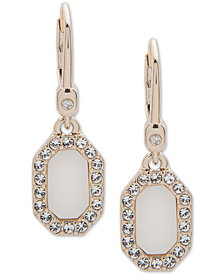 Ivanka Trump Stone & Pavé Drop Earrings