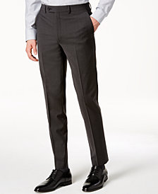 Calvin Klein Men's Skinny Fit Infinite Stretch Charcoal Suit Pants