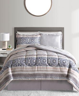 Naven Reversible 6-Pc. Twin Comforter Set