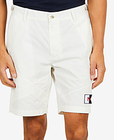 "Nautica Men's Classic-Fit Crossover Appliqué 9"" Shorts"