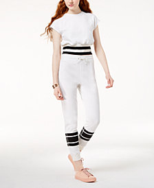 Material Girl Active Juniors' Jogger Pants, Created for Macy's