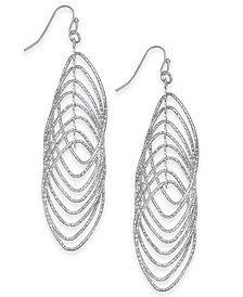 I.N.C. Navette Multi-Ring Drop Earrings, Created for Macy's