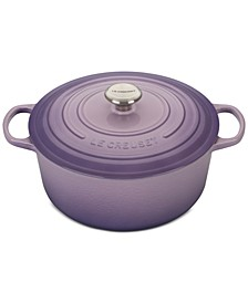 CLOSEOUT! Signature Enameled Cast Iron 7.25 Qt. Round French Oven