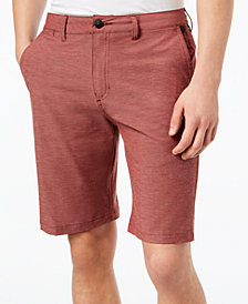 "Quiksilver Men's Heathered Amphibian 21"" Hybrid Shorts"