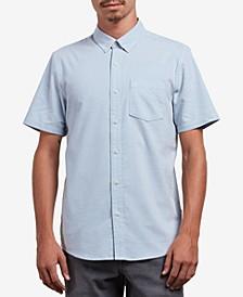 Men's Everett Short-Sleeve Oxford Shirt