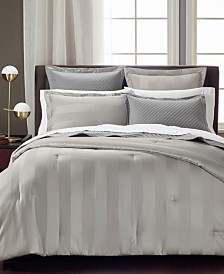 Charter Club Damask Reversible Comforters, 550 Thread Count 100% Supima Cotton, Created for Macy's