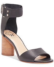 Vince Camuto Jannali Cylinder-Heel Dress Sandals