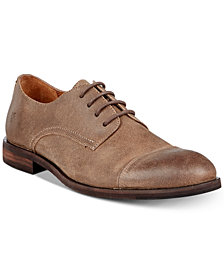Frye Men's Scott Cap-Toe Suede Oxfords, Created for Macy's