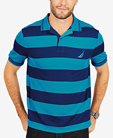 Nautica Men's Striped Polo Classic-Fit Shirt