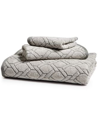 Ultimate MicroCotton Sculpted Fashion Bath Towel, Created for Macy's