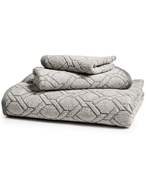 Hotel Collection Ultimate MicroCotton Sculpted Fashion Bath Towel, Created for Macy's