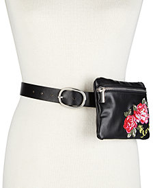 I.N.C. Embroidered Love Fanny Pack, Created for Macy's