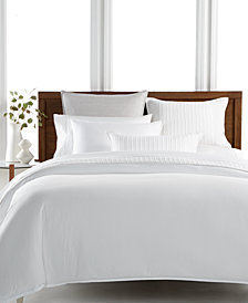 Hotel Collection 525-Thread Count Yarn Dyed King Duvet Cover, Created for Macy's