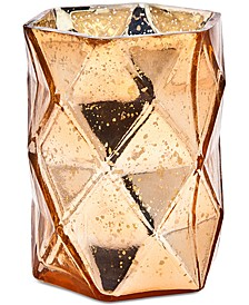 Copper-Colored Crystal Vase