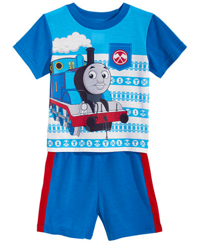 Thomas & Friends 2-Pc. Graphic-Print Pajama Set, Toddler Boys